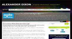 Preview of alexanderdixon.co.uk