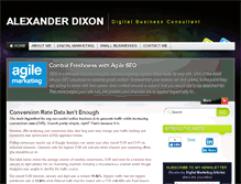 Tablet Preview of alexanderdixon.co.uk